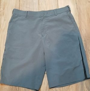 Gray Nike Golf Shorts